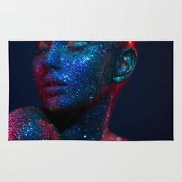 Dark glitter I Rug