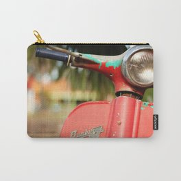 The old scooter - Bambi Carry-All Pouch