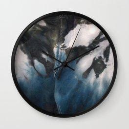Blue Skys Wall Clock