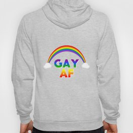 GAY AF Rainbow - LGBT Hoody