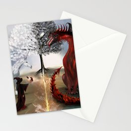 The Owl,Wizard,Unicorn and the Dragon Stationery Cards