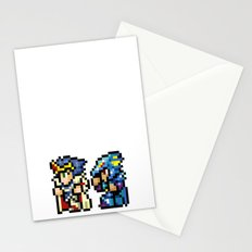 Final Fantasy II - Cecil and Kain Stationery Cards