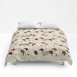 Dachshund doxie sweaters cute dog gifts dog breed dachsie owners must haves Comforters