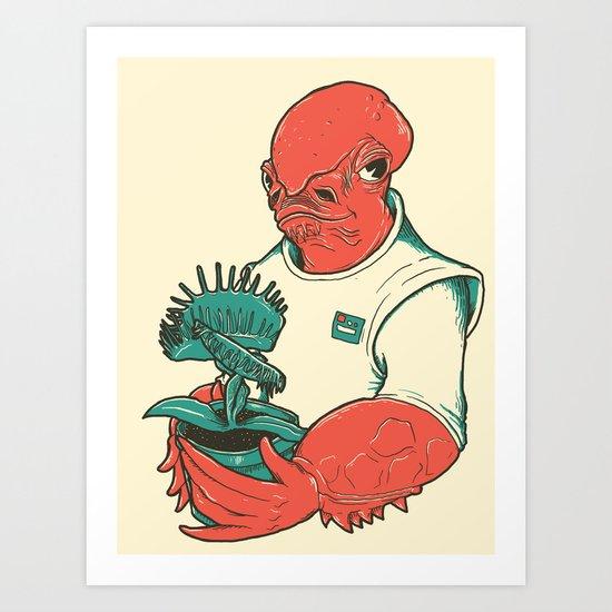 The Admiral's Trap Art Print