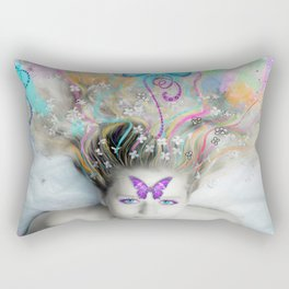Colourful Dreams by Lesley Smitheringale Rectangular Pillow