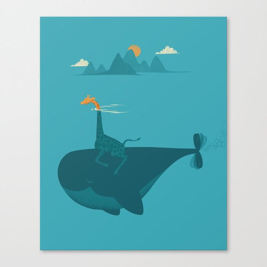 Nature's Submarine Canvas Print