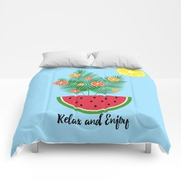 Hello Summer - relax and enjoy Comforters