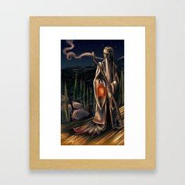 The Hermit Framed Art Print