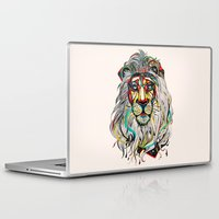 lion Laptop & iPad Skins featuring Lion by Felicia Cirstea