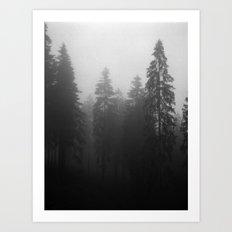 Fog Fog Fog Art Print