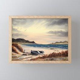 Mull Of Kintyre Scotland Framed Mini Art Print