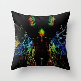 Technofly Throw Pillow