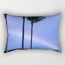 Island-Style Rainbow Across Kauai, Hawaii Rectangular Pillow