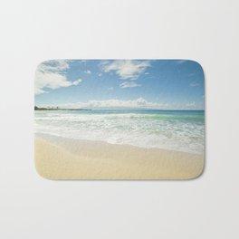 kapalua beach maui hawaii Bath Mat