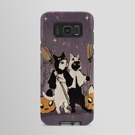 halloween cats Android Case