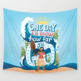 The ocean chose me Wall Tapestry