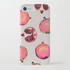 Pomegranate Pattern Slim Case iPhone 7