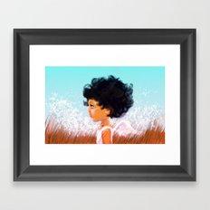 Athena Framed Art Print