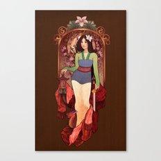 Who I am Inside Canvas Print