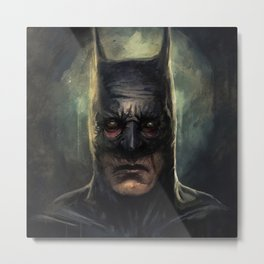 Batmad Metal Print