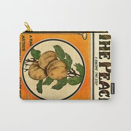 The Peach. A Ragtime Two Step Carry-All Pouch