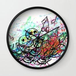 Rockin Octopus Wall Clock