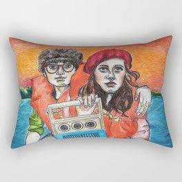 Sam Shakusky & Suzy Bishop Rectangular Pillow