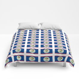 flag of belize 2 -Belice, Belizean,Belize City,beliceno,Belmopan Comforters