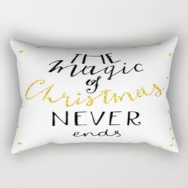 Christmas Magic Rectangular Pillow