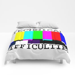 Technical Difficulties Comforters