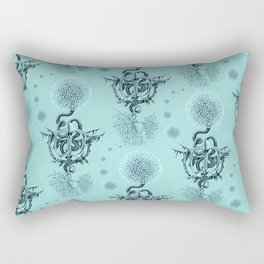 Cat Toy Bone Flower Rectangular Pillow