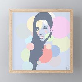 Estrella Framed Mini Art Print