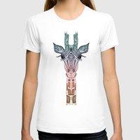 robin T-shirts featuring GiRAFFE by Monika Strigel