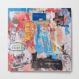 Basquiat Style 2 Metal Print