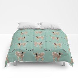 Deer Pattern Comforters