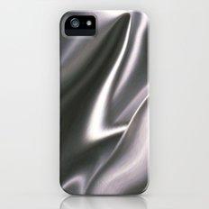 Silver Satin iPhone (5, 5s) Slim Case