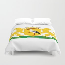 Coat of arms of The Hague Duvet Cover