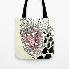 Monstrous and Free Tote Bag