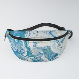 Blue Dolphin Planet Fanny Pack
