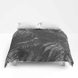 Colorless Fern Comforters
