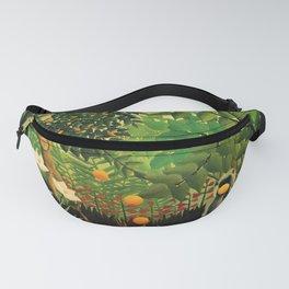 """Henri Rousseau """"Exotic landscape"""", 1910 Fanny Pack"""