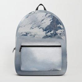 Eiger Mountain in Clouds Backpack