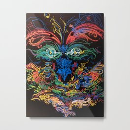 Totem Pole Original Metal Print
