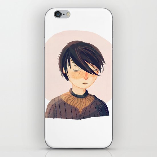 There Is Only One Thing We Say To Death iPhone & iPod Skin