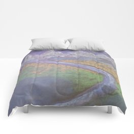 The Himalaya and The River Ganges II Comforters