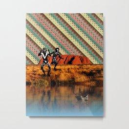 Australia Day. Metal Print