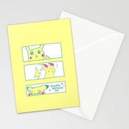Teenage Poke Romance Stationery Cards