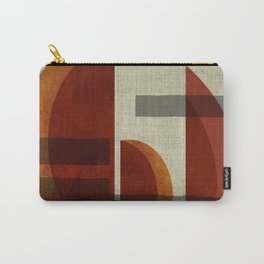 """Abstract Ships at Sunset"" Carry-All Pouch"