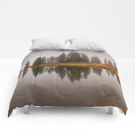 Colorado Fall Colors Panorama Comforters