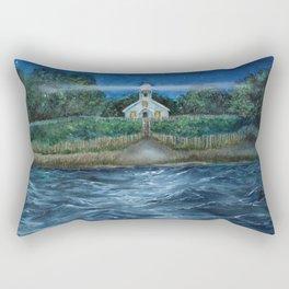 Mission Point Lighthouse Rectangular Pillow